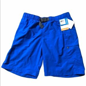 Columbia Small Omni Shade Blue Swimming Trunks